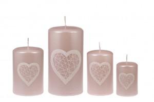 Sinnlichkeit und Liebe Lichter Rosa-hell