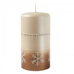 Kerze Charm, Braun, 80-150