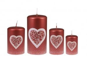 Sinnlichkeit und Liebe Lichter Rot
